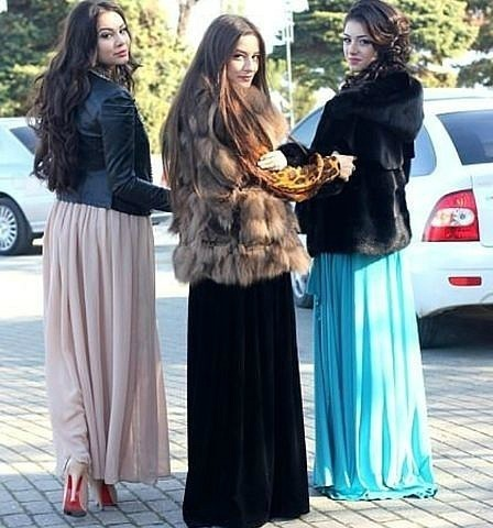 Юбки дагестанские