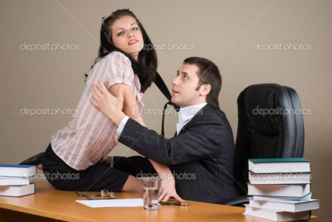 фото босс и секретарша