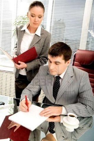 фото шеф и секретарь